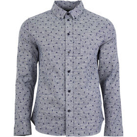 United By Blue M's Norde Stretch LS Button Down Navy-Grizzly